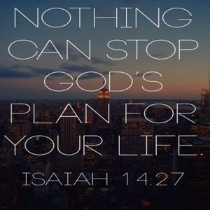 Nothing Can Stop God